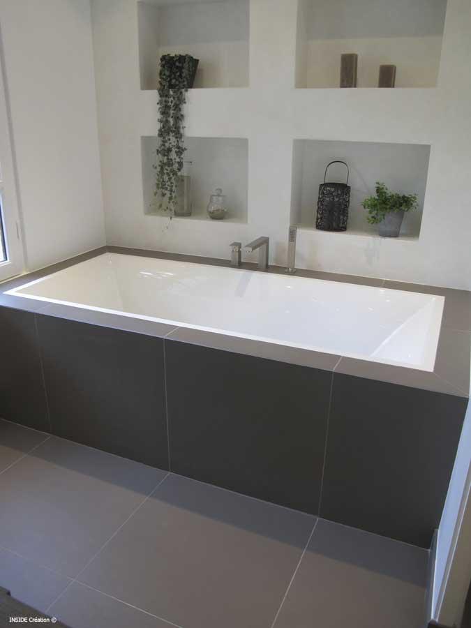 R novation de salle de bains nice installation et pose for Salle de bain moderne avec baignoire